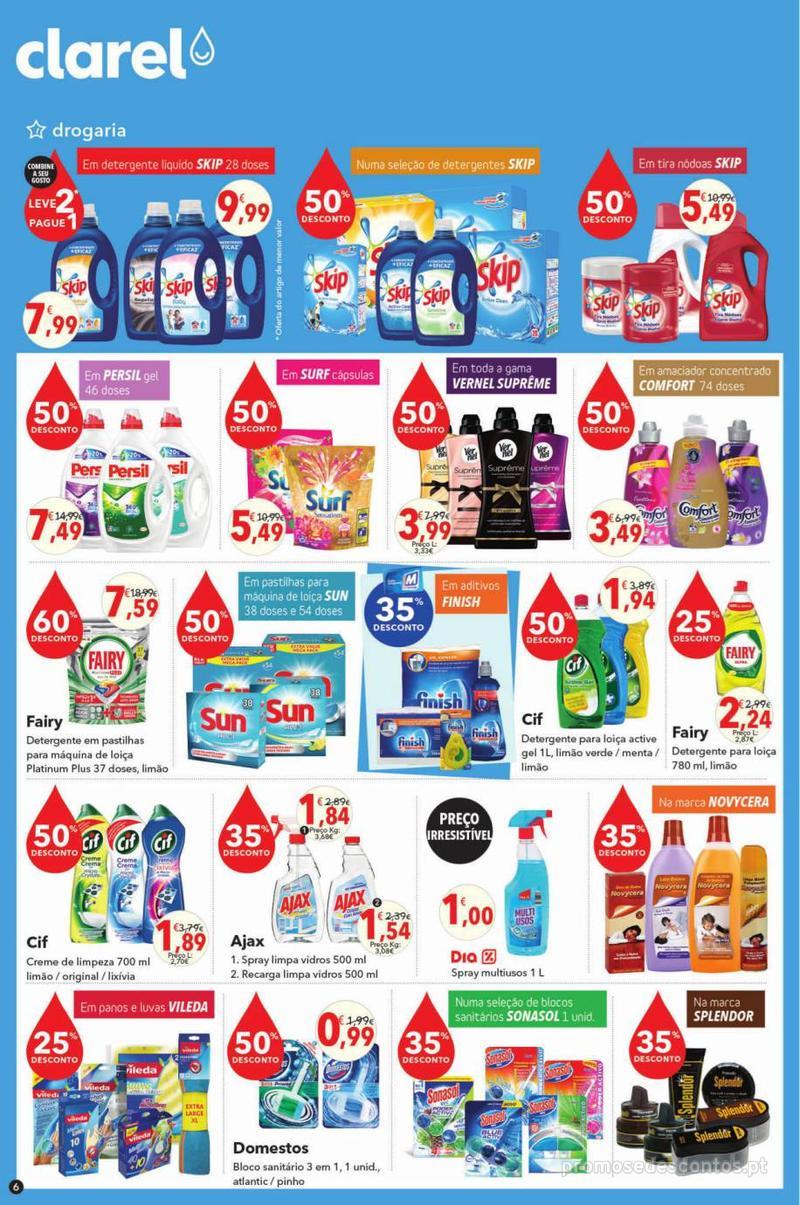 Folheto Minipreço Clarel - Aproveite a Páscoa para uma escapadinha - 11 de Abril a 24 de Abril - página 6