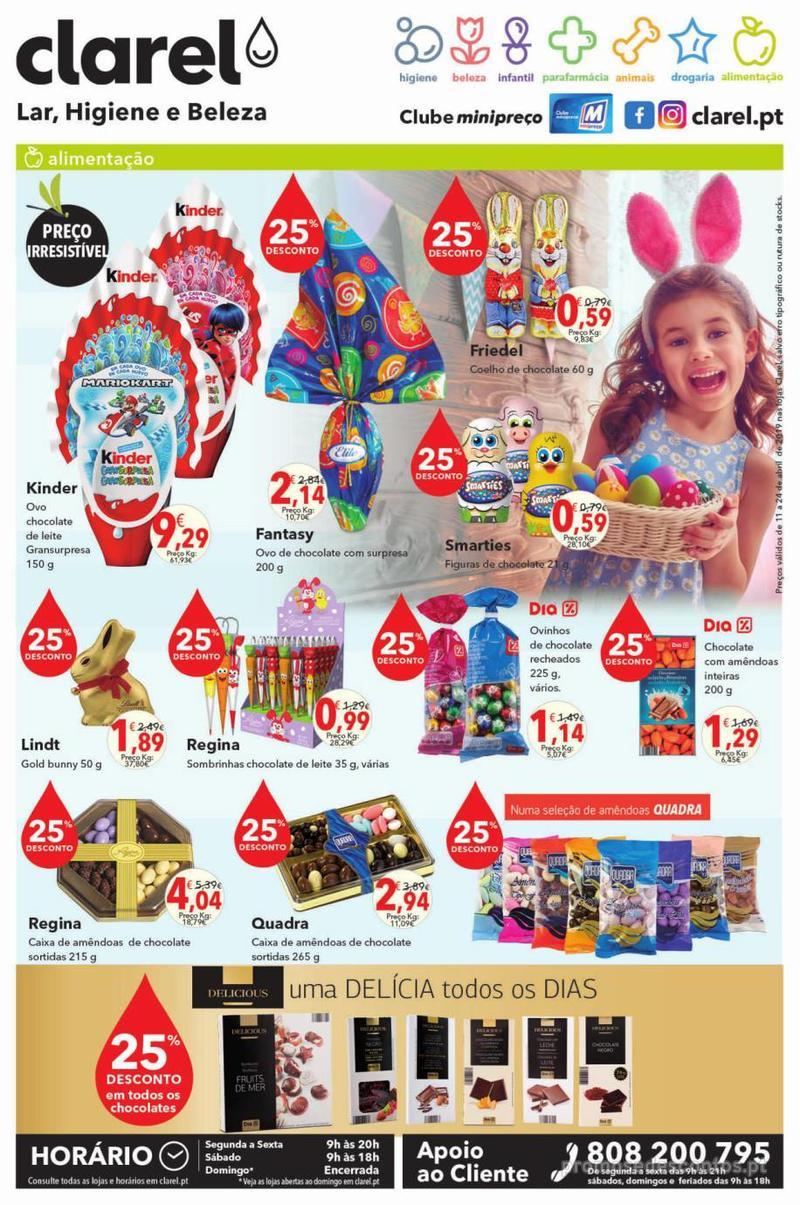 Folheto Minipreço Clarel - Aproveite a Páscoa para uma escapadinha - 11 de Abril a 24 de Abril - página 8