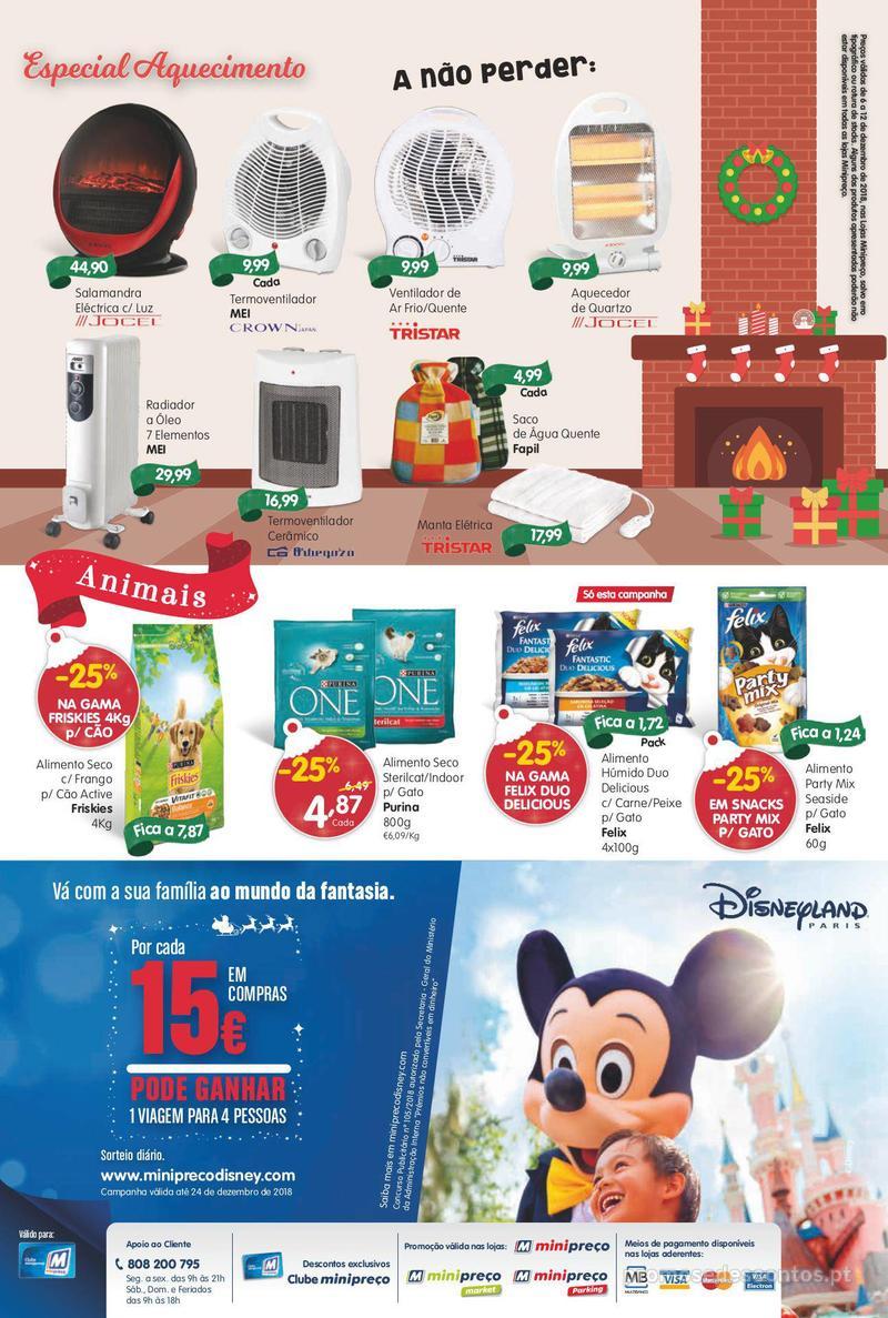 Folheto Minipreço Ao seu lado, até ao mundo da fantasia - 6 de Dezembro a 12 de Dezembro - página 16