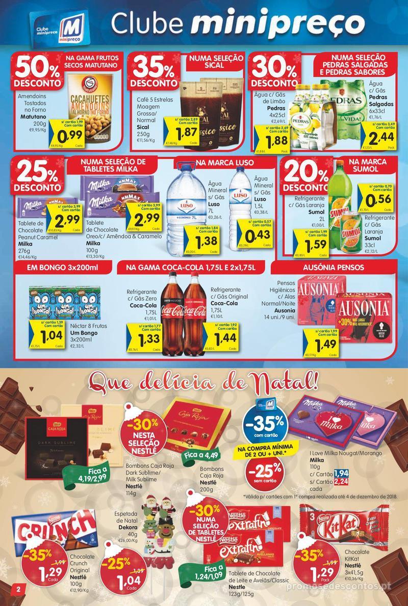 Folheto Minipreço Ao seu lado, até ao mundo da fantasia - 6 de Dezembro a 12 de Dezembro - página 2