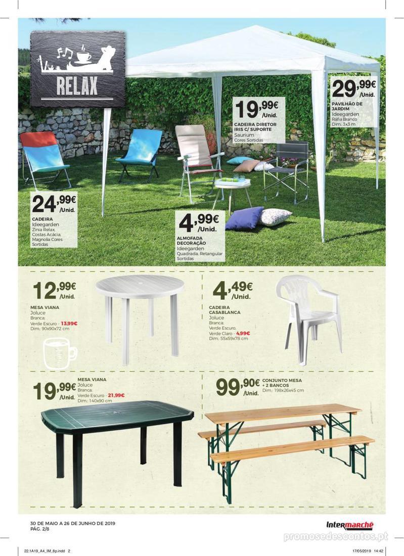 Folheto Intermarché Especial Ar livre - Contact - 30 de Maio a 26 de Junho - página 2