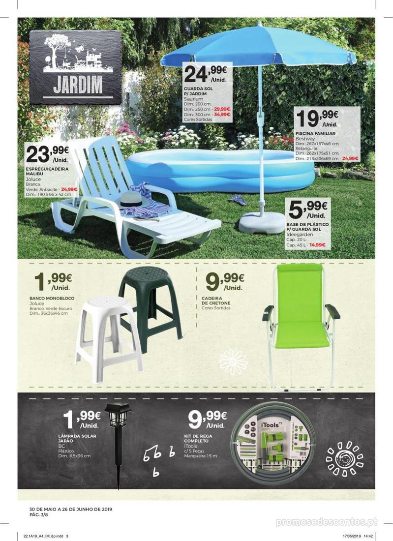 Folheto Intermarché Especial Ar livre - Contact - 30 de Maio a 26 de Junho - página 3