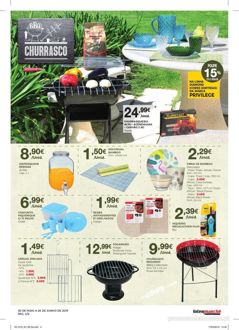 Folheto Intermarché Especial Ar livre - Contact - 30 de Maio a 26 de Junho - página 4
