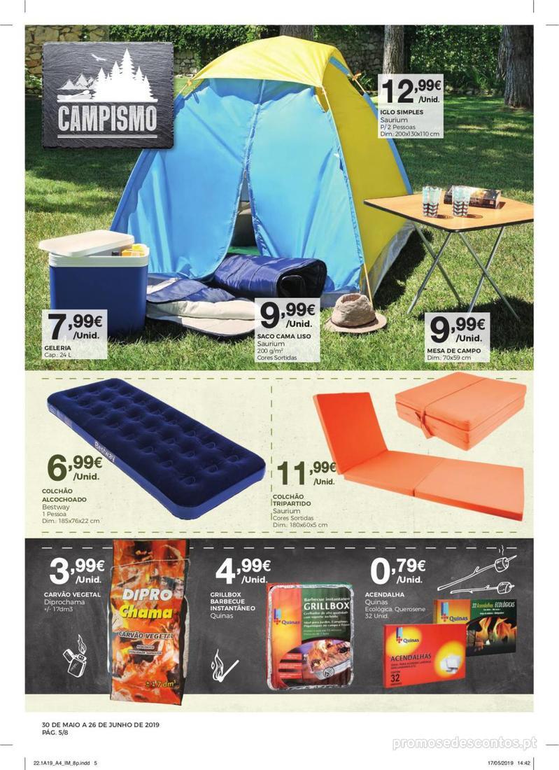 Folheto Intermarché Especial Ar livre - Contact - 30 de Maio a 26 de Junho - página 5