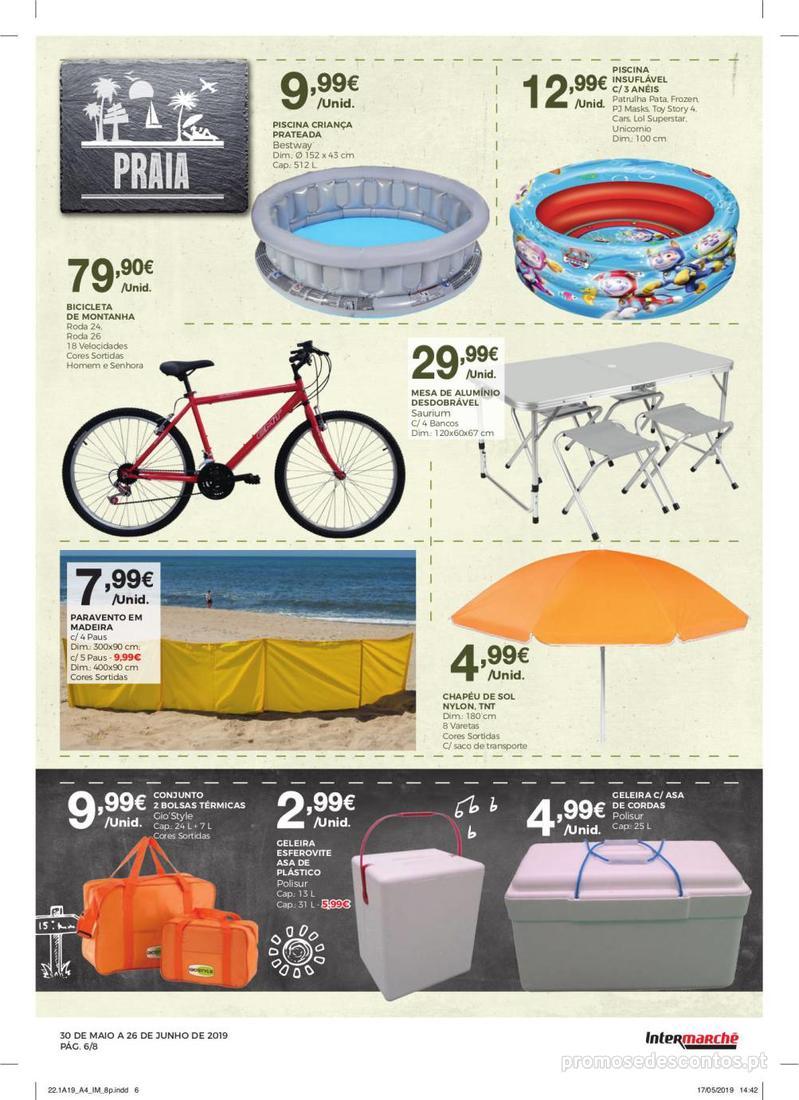 Folheto Intermarché Especial Ar livre - Contact - 30 de Maio a 26 de Junho - página 6