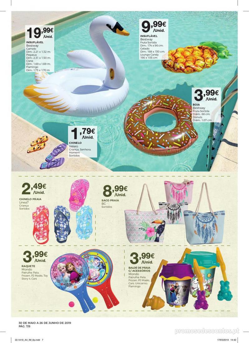 Folheto Intermarché Especial Ar livre - Contact - 30 de Maio a 26 de Junho - página 7