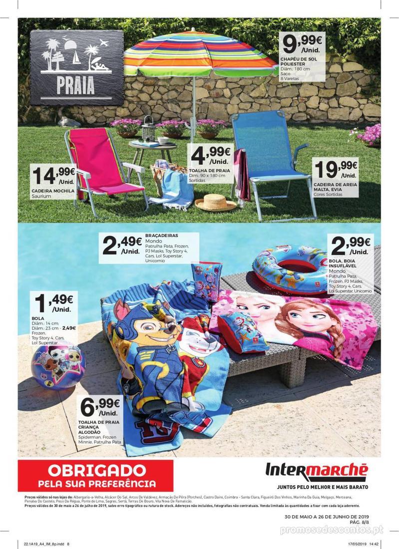 Folheto Intermarché Especial Ar livre - Contact - 30 de Maio a 26 de Junho - página 8