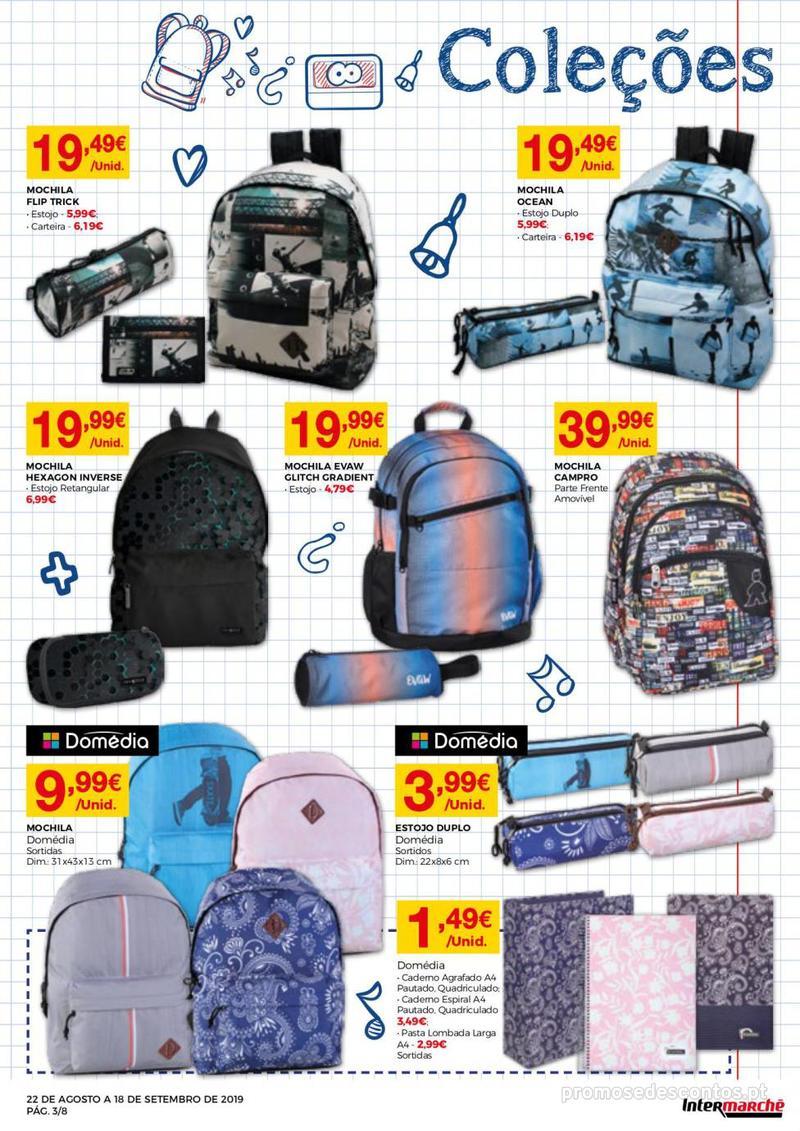 Folheto Intermarché Regresso às aulas - 22 de Agosto a 18 de Setembro - página 3