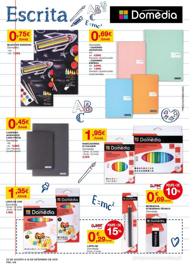 Folheto Intermarché Regresso às aulas - 22 de Agosto a 18 de Setembro - página 4