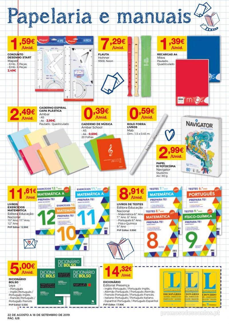 Folheto Intermarché Regresso às aulas - 22 de Agosto a 18 de Setembro - página 6