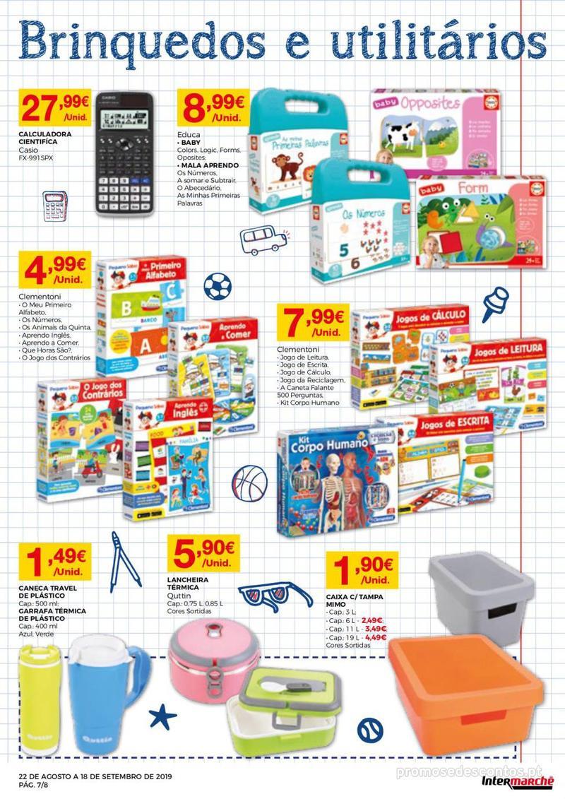 Folheto Intermarché Regresso às aulas - 22 de Agosto a 18 de Setembro - página 7