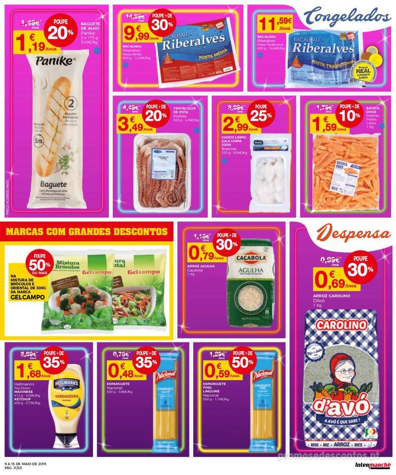 Folheto Intermarché Operação queimar preço - Contact - 9 de Maio a 15 de Maio - página 11