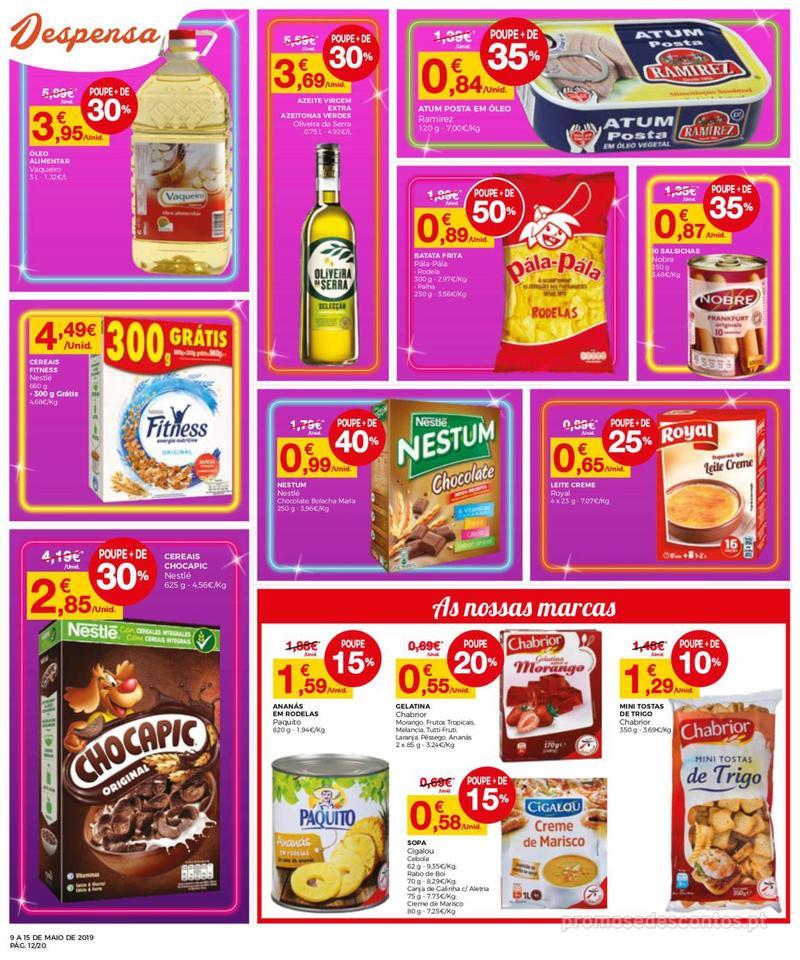 Folheto Intermarché Operação queimar preço - Contact - 9 de Maio a 15 de Maio - página 12