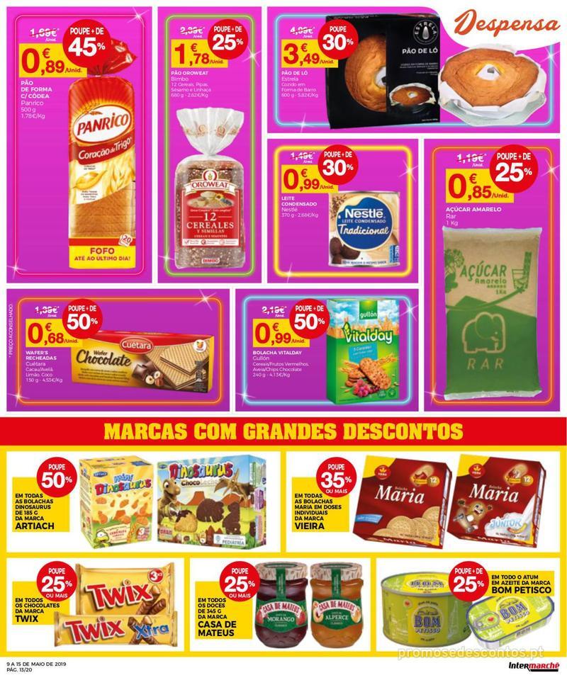 Folheto Intermarché Operação queimar preço - Contact - 9 de Maio a 15 de Maio - página 13