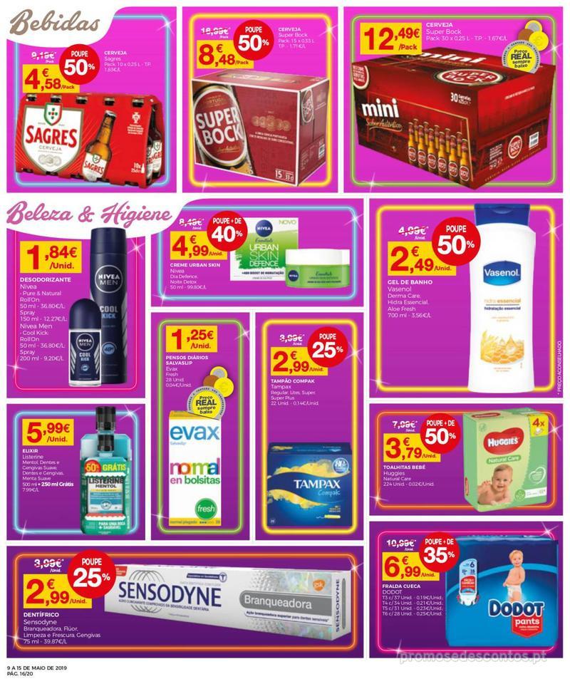 Folheto Intermarché Operação queimar preço - Contact - 9 de Maio a 15 de Maio - página 16
