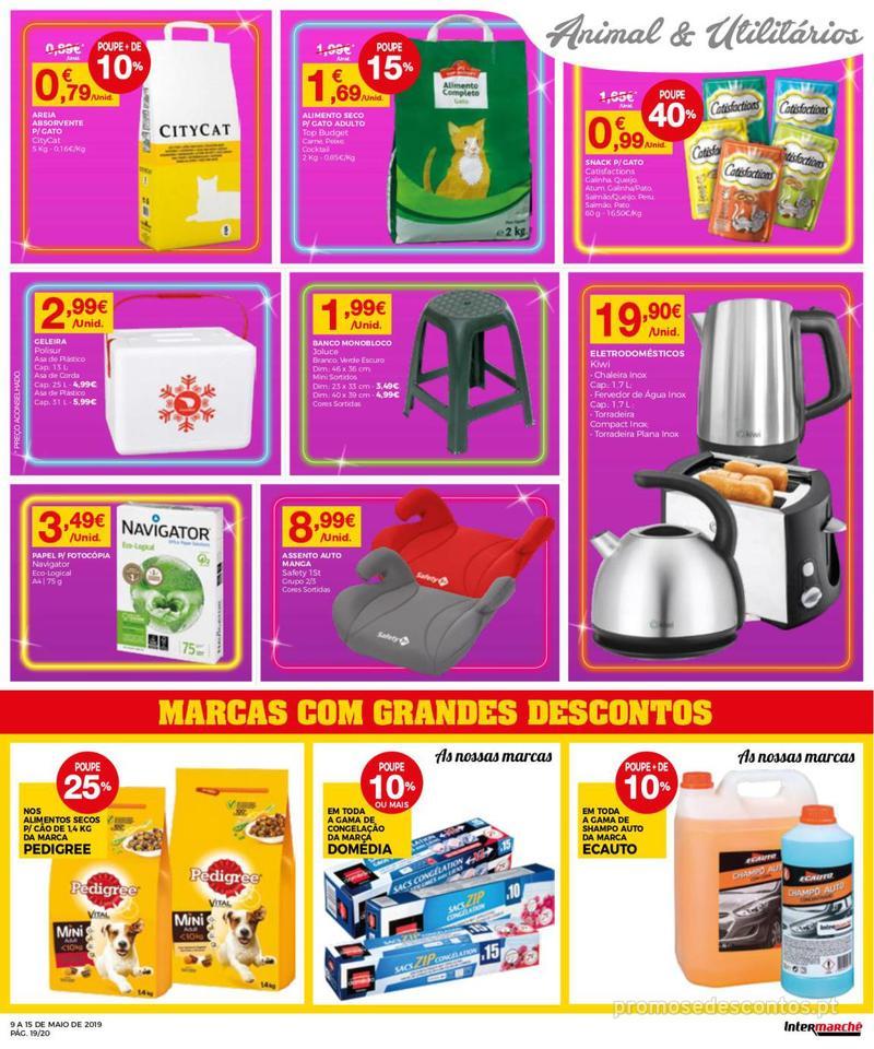 Folheto Intermarché Operação queimar preço - Contact - 9 de Maio a 15 de Maio - página 19