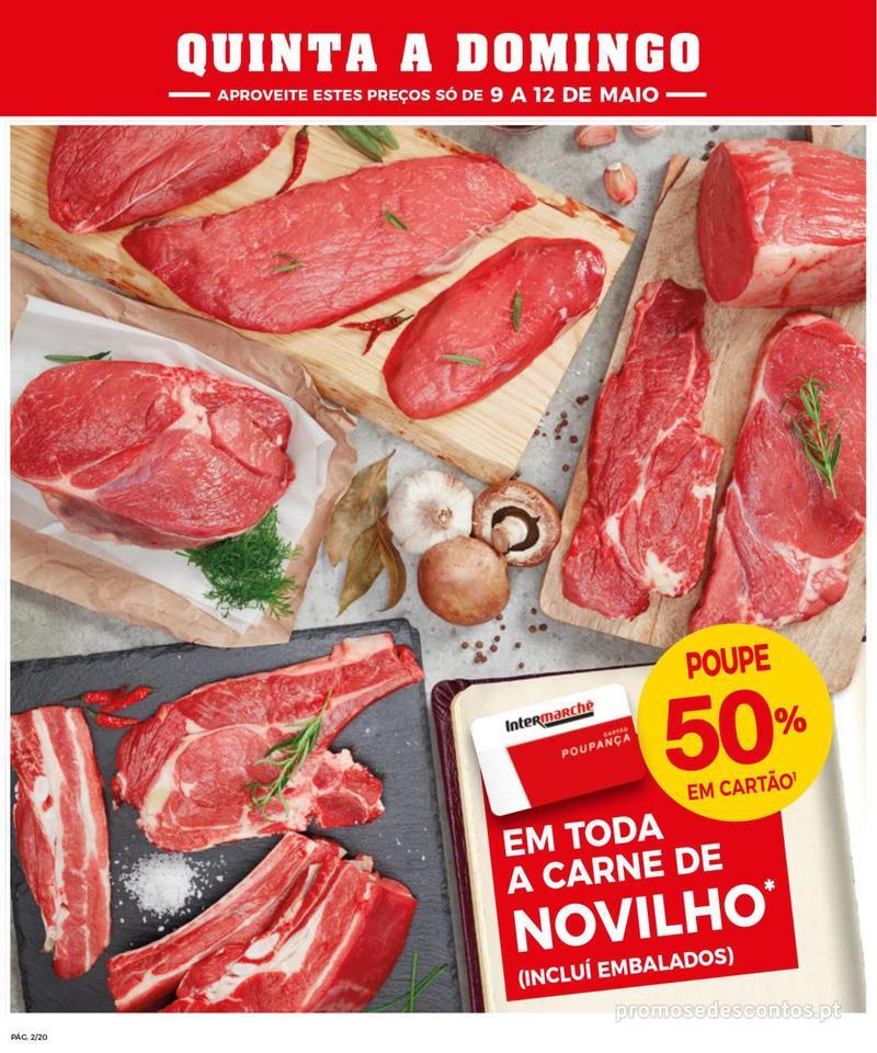 Folheto Intermarché Operação queimar preço - Contact - 9 de Maio a 15 de Maio - página 2
