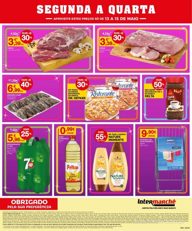 Folheto Intermarché Operação queimar preço - Contact - 9 de Maio a 15 de Maio - página 20