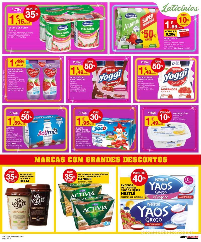 Folheto Intermarché Operação queimar preço - Contact - 9 de Maio a 15 de Maio - página 9