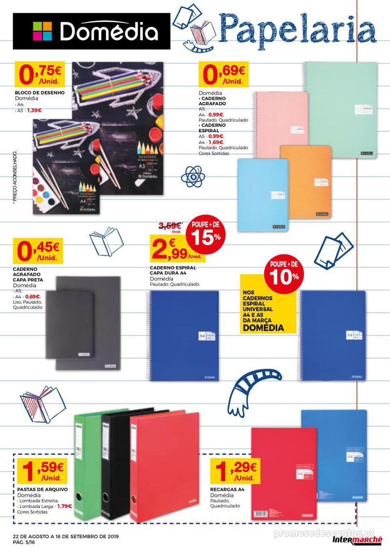 Folheto Intermarché Regresso às aulas - 22 de Agosto a 18 de Setembro - página 5