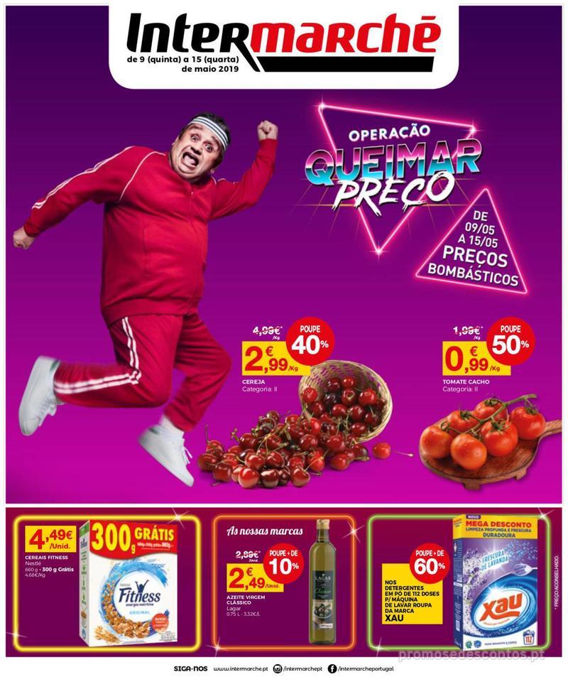 Folheto Intermarché Operação queimar preço - Contact Mini - 9 de Maio a 15 de Maio - página 1