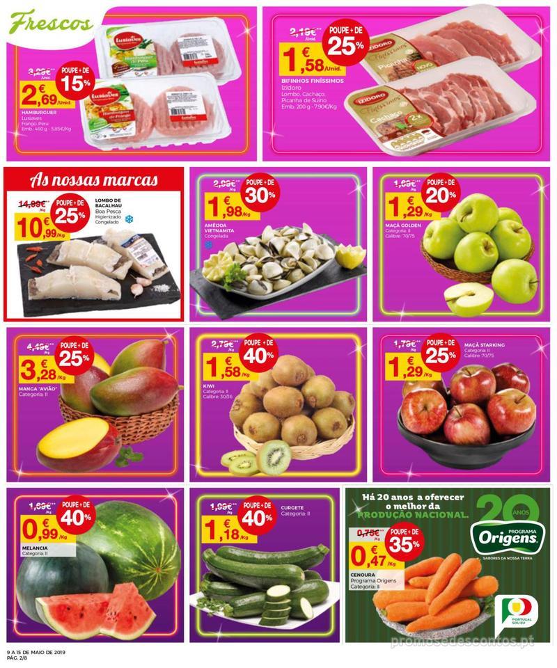 Folheto Intermarché Operação queimar preço - Contact Mini - 9 de Maio a 15 de Maio - página 2