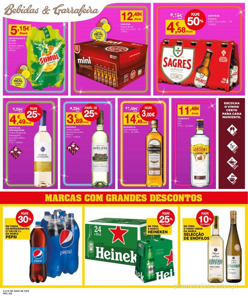 Folheto Intermarché Operação queimar preço - Contact Mini - 9 de Maio a 15 de Maio - página 6