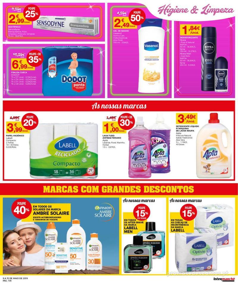 Folheto Intermarché Operação queimar preço - Contact Mini - 9 de Maio a 15 de Maio - página 7