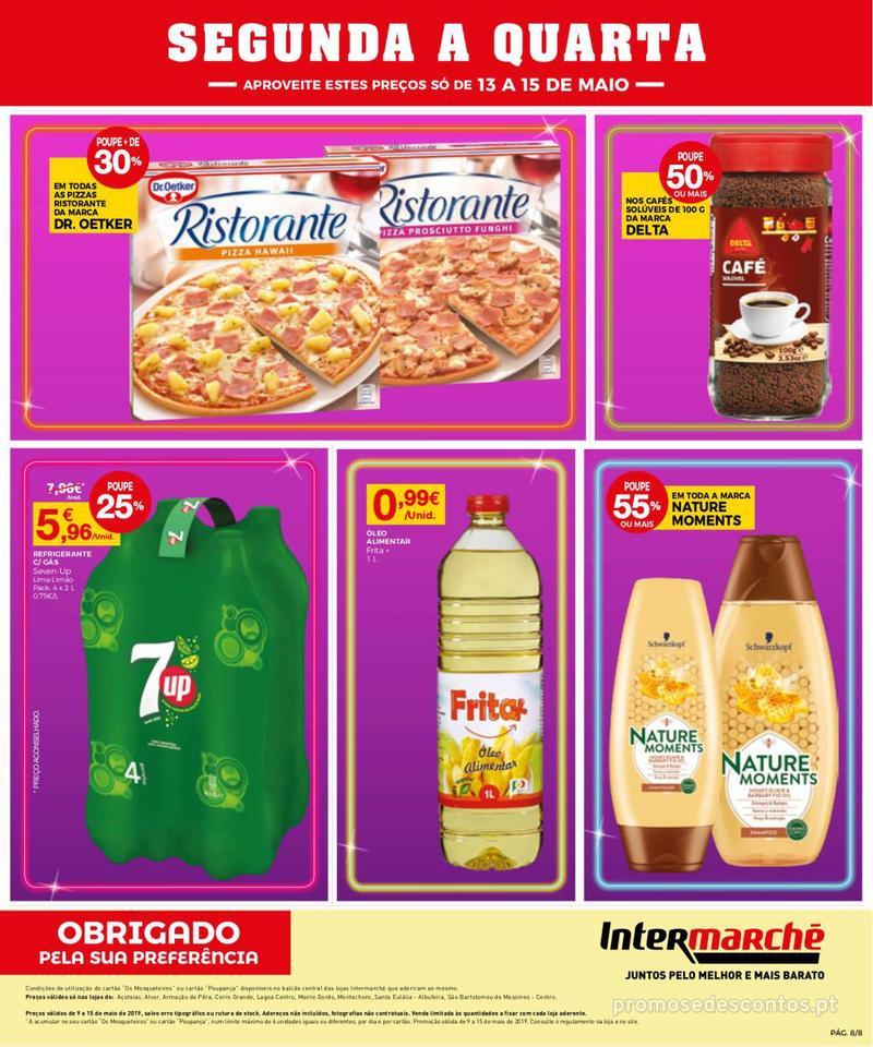 Folheto Intermarché Operação queimar preço - Contact Mini - 9 de Maio a 15 de Maio - página 8