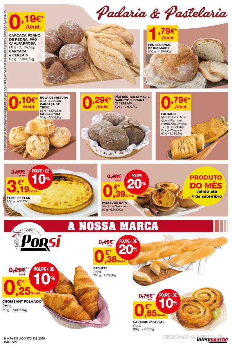 Folheto Intermarché Daqui leva a pausa que precisa e que sabe ainda melhor - Super - 8 de Agosto a 14 de Agosto - página 5