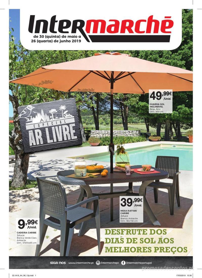 Folheto Intermarché Especial Ar livre - Super - 30 de Maio a 26 de Junho - página 1