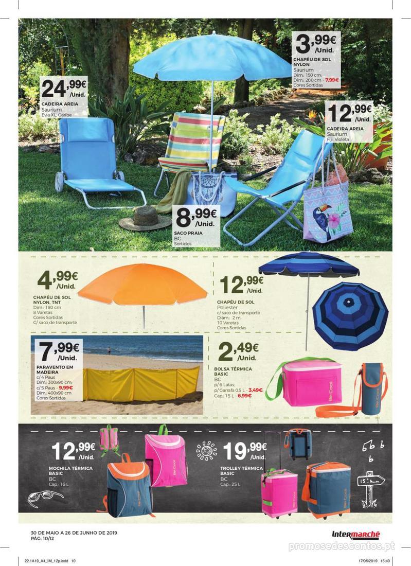 Folheto Intermarché Especial Ar livre - Super - 30 de Maio a 26 de Junho - página 10
