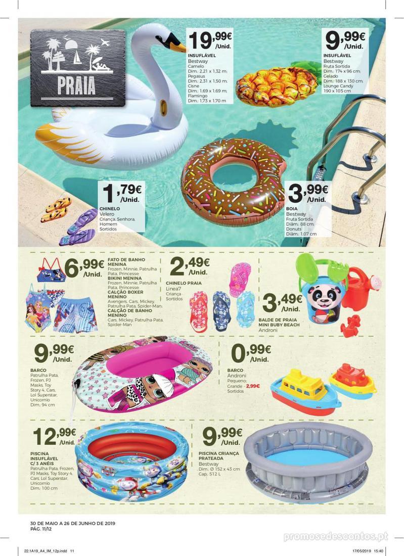 Folheto Intermarché Especial Ar livre - Super - 30 de Maio a 26 de Junho - página 11
