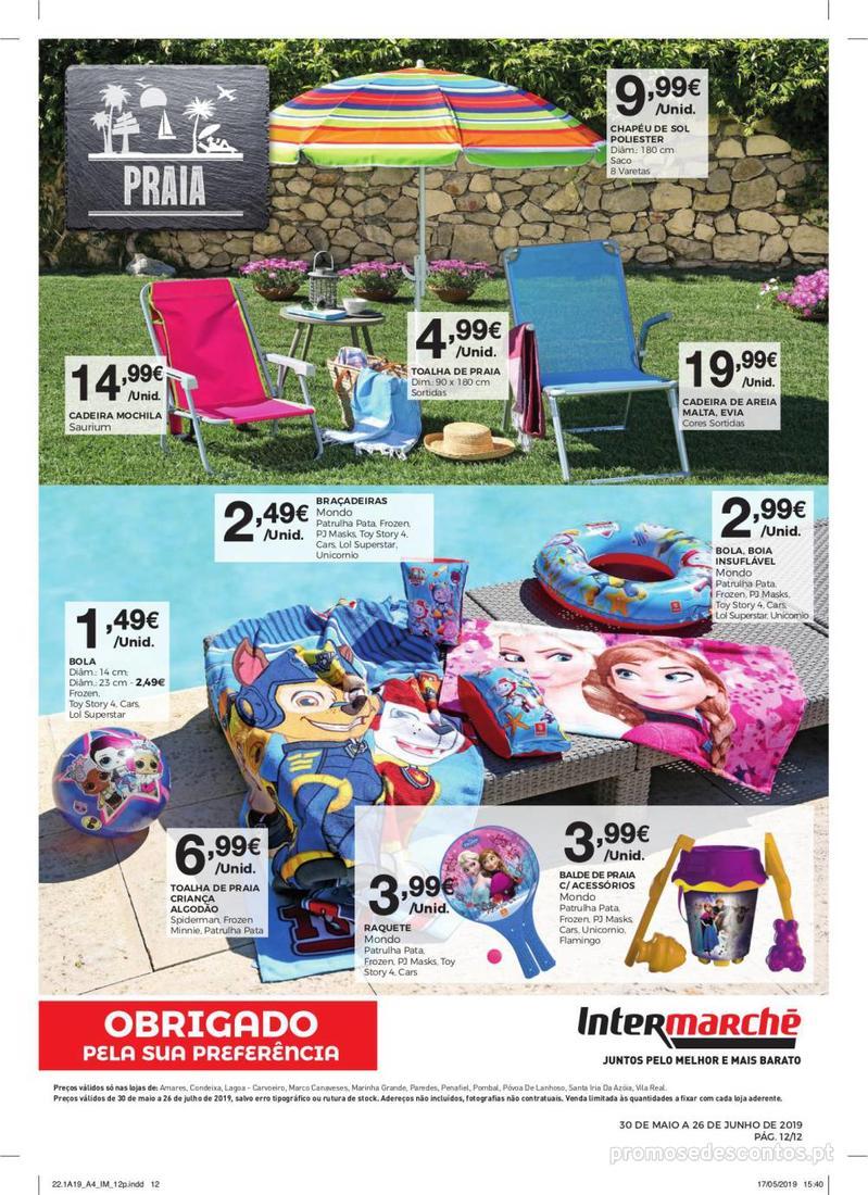 Folheto Intermarché Especial Ar livre - Super - 30 de Maio a 26 de Junho - página 12