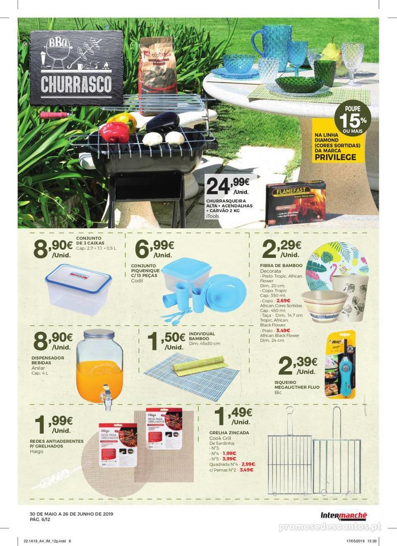 Folheto Intermarché Especial Ar livre - Super - 30 de Maio a 26 de Junho - página 6