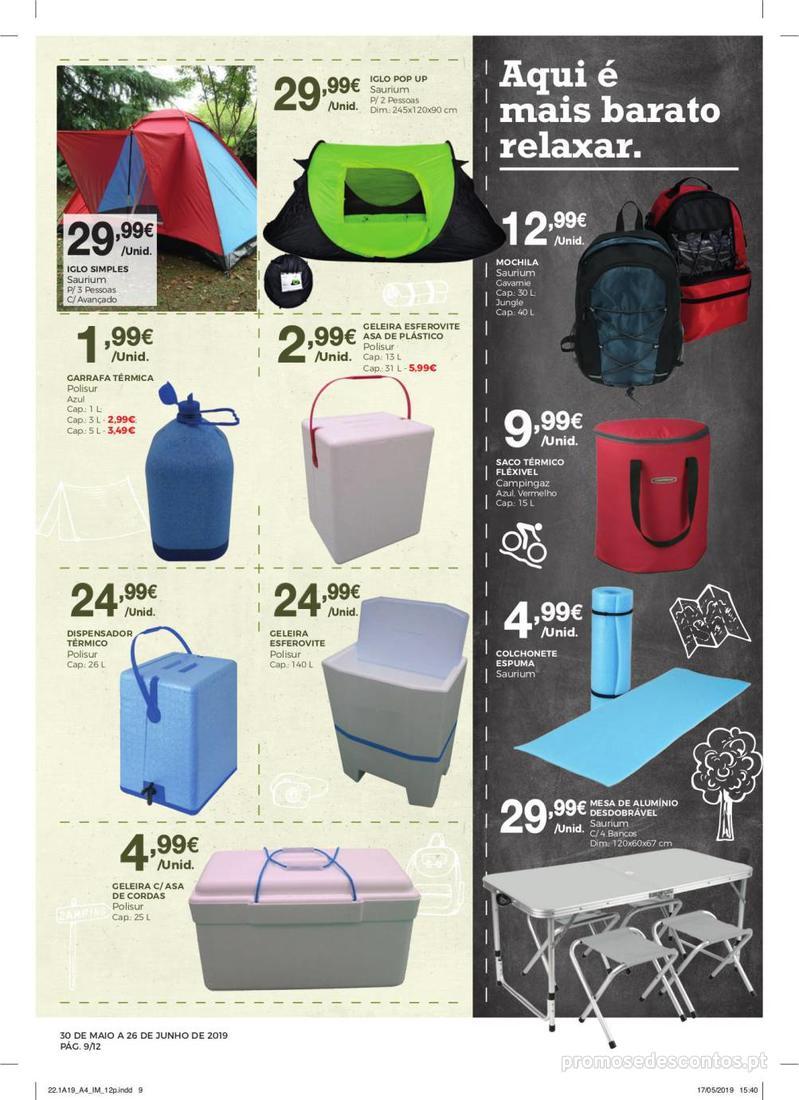 Folheto Intermarché Especial Ar livre - Super - 30 de Maio a 26 de Junho - página 9