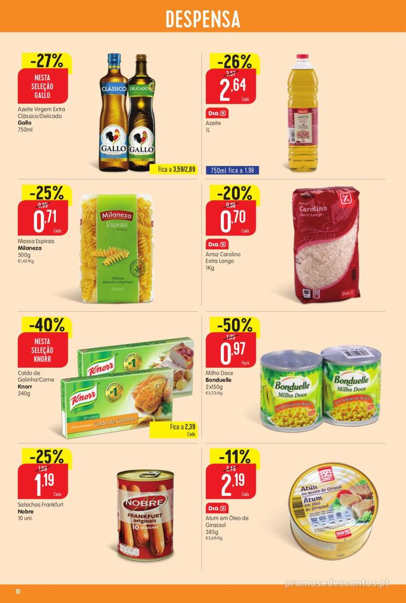 Folheto Intermarché Vamos ao que interessa - 22 de Agosto a 28 de Agosto - página 10