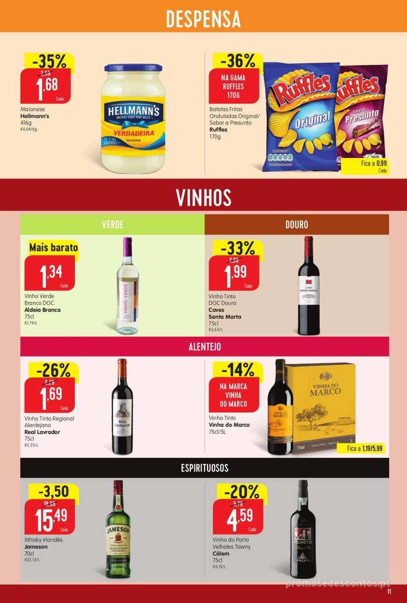 Folheto Intermarché Vamos ao que interessa - 22 de Agosto a 28 de Agosto - página 11