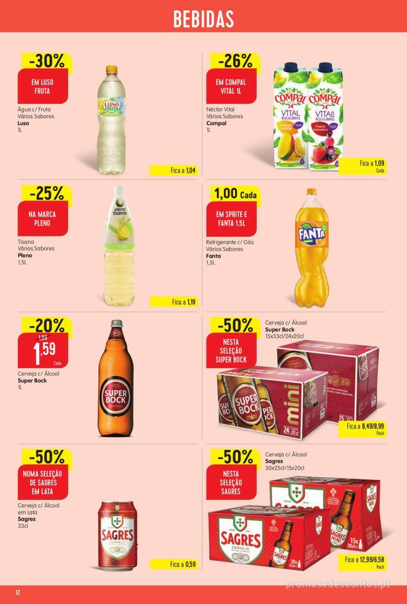 Folheto Intermarché Vamos ao que interessa - 22 de Agosto a 28 de Agosto - página 12
