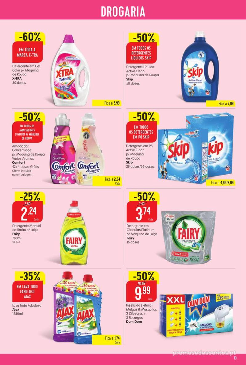 Folheto Intermarché Vamos ao que interessa - 22 de Agosto a 28 de Agosto - página 13
