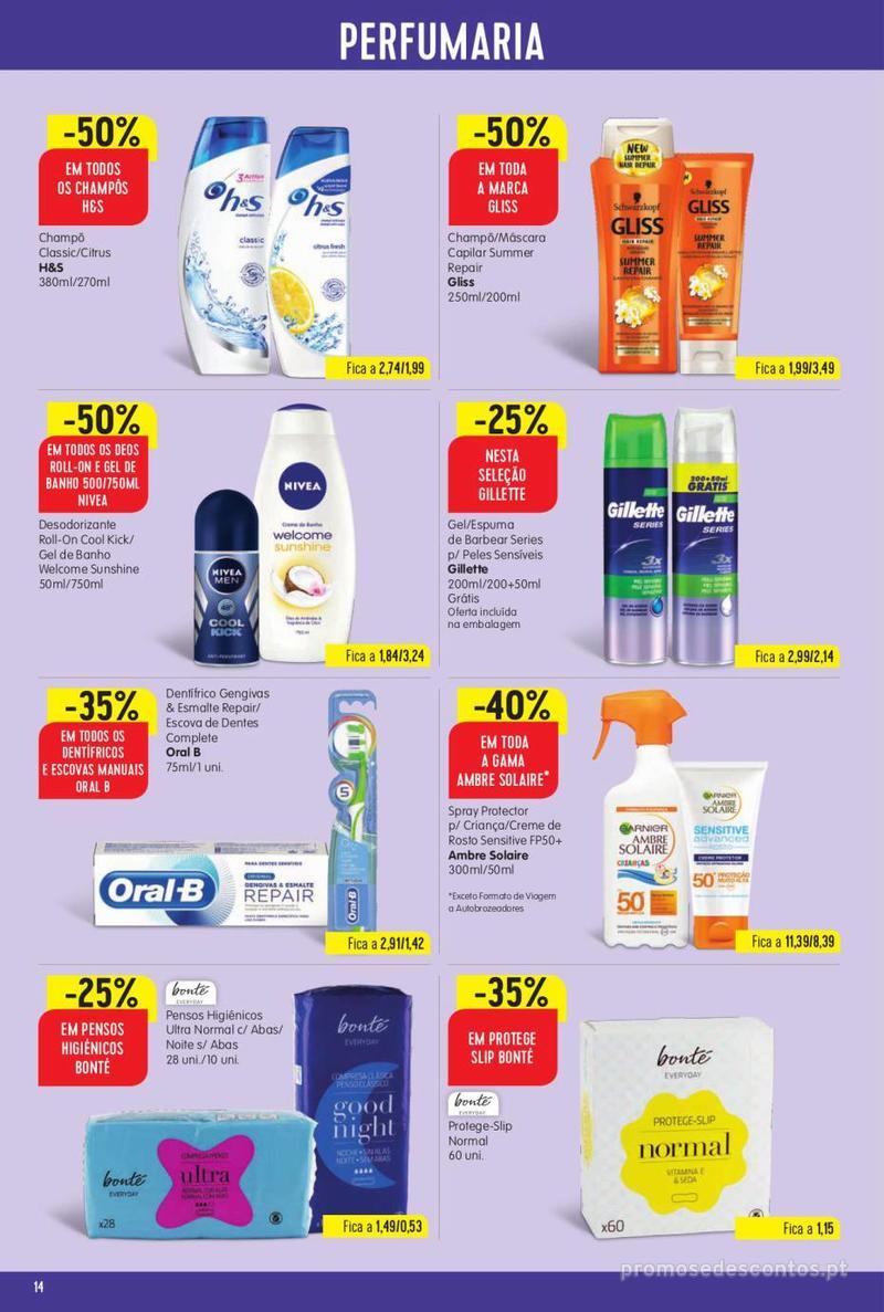 Folheto Intermarché Vamos ao que interessa - 22 de Agosto a 28 de Agosto - página 14