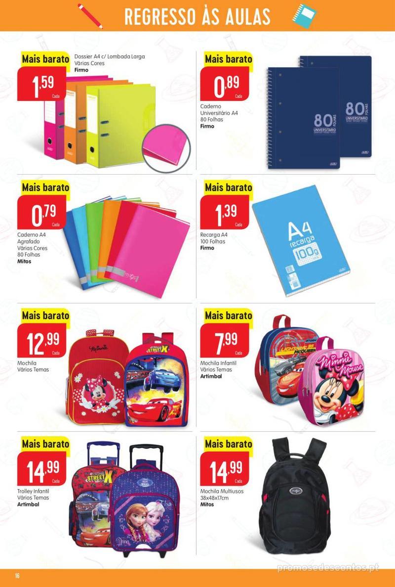 Folheto Intermarché Vamos ao que interessa - 22 de Agosto a 28 de Agosto - página 16