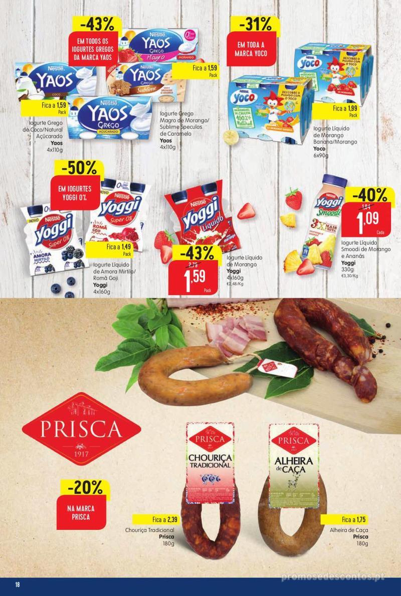 Folheto Intermarché Vamos ao que interessa - 22 de Agosto a 28 de Agosto - página 18