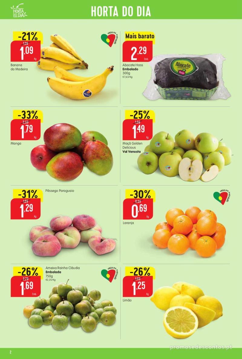 Folheto Intermarché Vamos ao que interessa - 22 de Agosto a 28 de Agosto - página 2