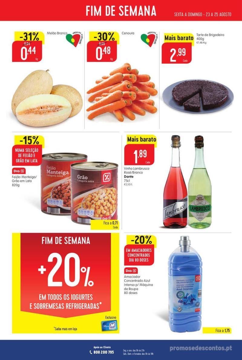 Folheto Intermarché Vamos ao que interessa - 22 de Agosto a 28 de Agosto - página 20