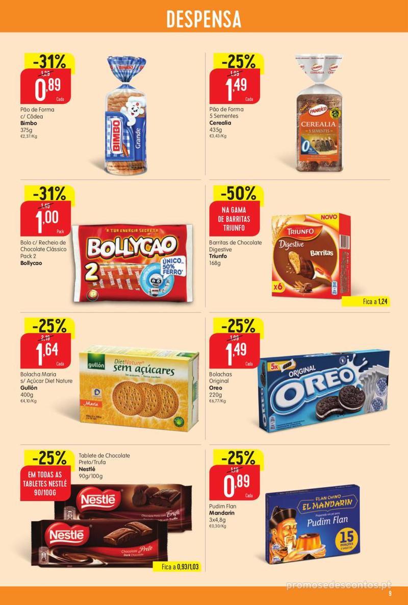 Folheto Intermarché Vamos ao que interessa - 22 de Agosto a 28 de Agosto - página 9