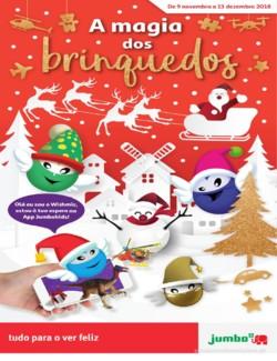 A magia dos brinquedos - 9 de Novembro a 13 de Dezembro