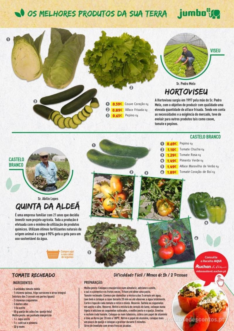 Folheto Jumbo Os melhores produtos da sua terra - 8 de Agosto a 31 de Agosto pág. 11