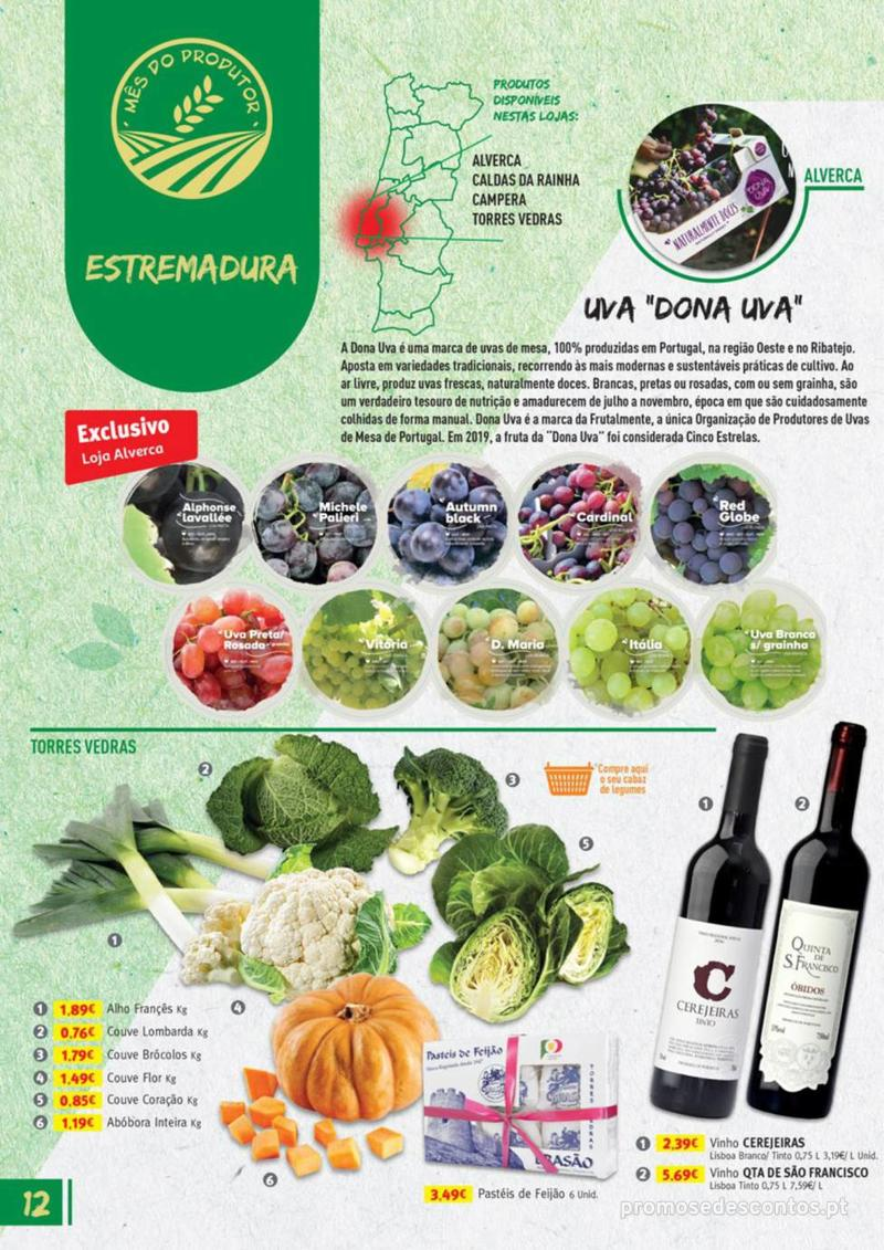 Folheto Jumbo Os melhores produtos da sua terra - 8 de Agosto a 31 de Agosto pág. 12