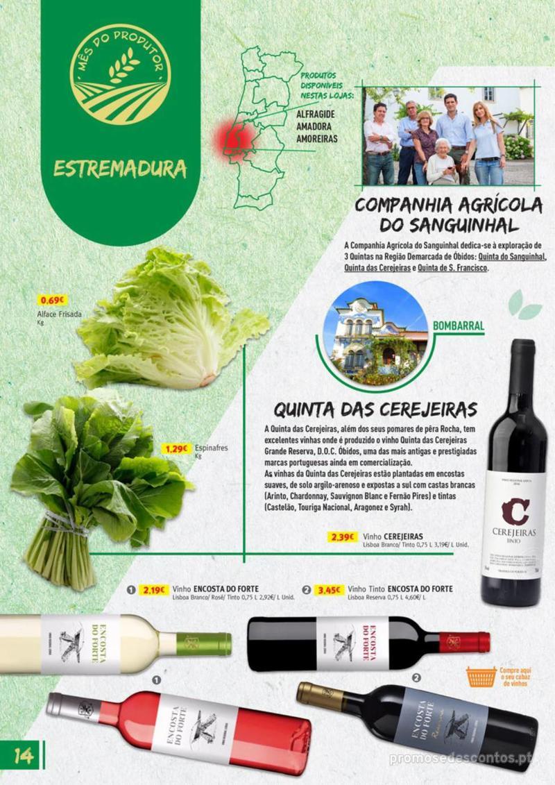 Folheto Jumbo Os melhores produtos da sua terra - 8 de Agosto a 31 de Agosto pág. 14